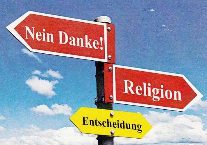 Konfessionslosigkeit und Glauben
